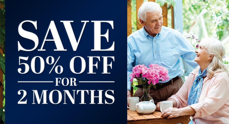 Save 50% Off for 2 Months